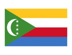 科摩罗国旗矢量图