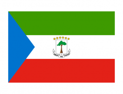 赤道几内亚国旗矢量图