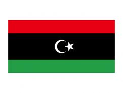 利比亚国旗矢量图