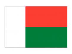 马达加斯加国旗矢量图