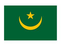 毛里塔尼亚国旗矢量图
