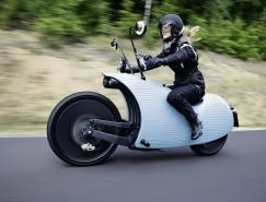 前卫帅气的Johammer J1电动摩托车