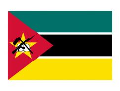 莫桑比克国旗矢量图