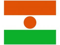 尼日尔国旗矢量图
