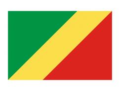 刚果共和国国旗矢量图