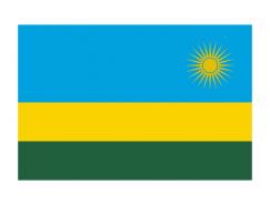 卢旺达国旗矢量图
