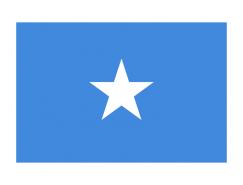 索马里国旗矢量图