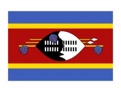 斯威士兰国旗矢量图