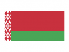 白俄羅斯國旗矢量圖