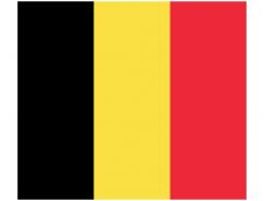 比利時國旗矢量圖