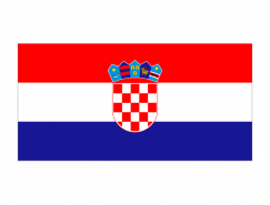 克罗地亚国旗矢量图