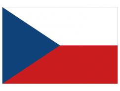捷克国旗矢量图