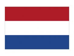 荷蘭國旗矢量圖