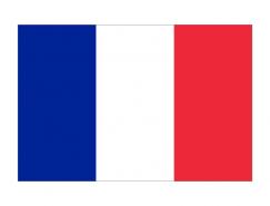 法國國旗矢量圖