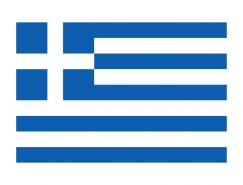 希腊国旗矢量图