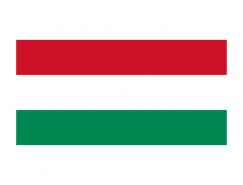 匈牙利国旗矢量图