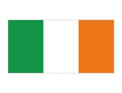 爱尔兰国旗矢量图