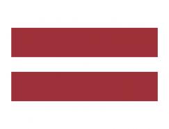 拉脱维亚国旗矢量图