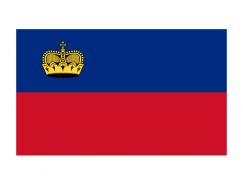 列支敦士登国旗矢量图