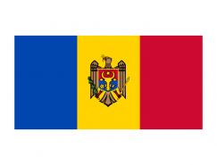摩尔多瓦国旗�矢量图