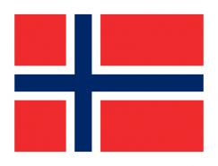 挪威国旗矢量图