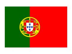 葡萄牙国旗矢量图