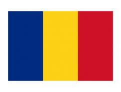罗马尼亚国旗矢量图