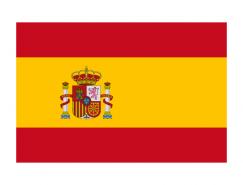 西班牙国旗矢量图