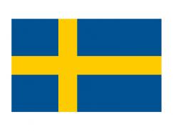 瑞典国旗矢量图
