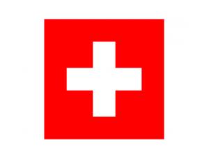 瑞士国旗矢量图