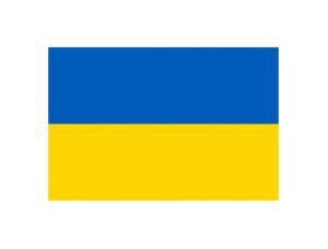 乌克兰国旗矢量图