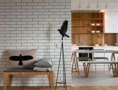 基辅白色调简约公寓设计