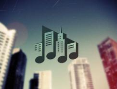25個漂亮的音樂主題logo設計