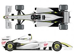 F1方程式赛车矢量素材