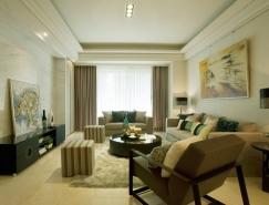 现代优雅的四居室装修欣赏