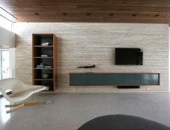 优雅简洁的电视柜设计:打造实用客厅背景墙