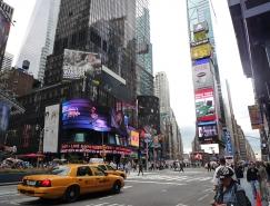 纽约时代广场街景高清图片