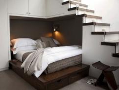 床和臥室巧妙的空間利用實例欣賞