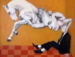 土耳其藝術家Atilla Galip Pinar奇幻插畫藝術作品