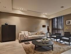 台湾大气简约的现代公寓设计