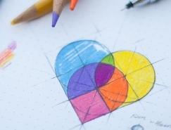 30个手绘效果logo欣赏