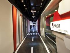 新加坡电信客户服务中心办公空间设计