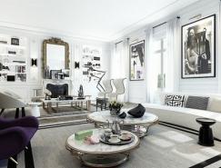 优雅的巴黎白色公寓