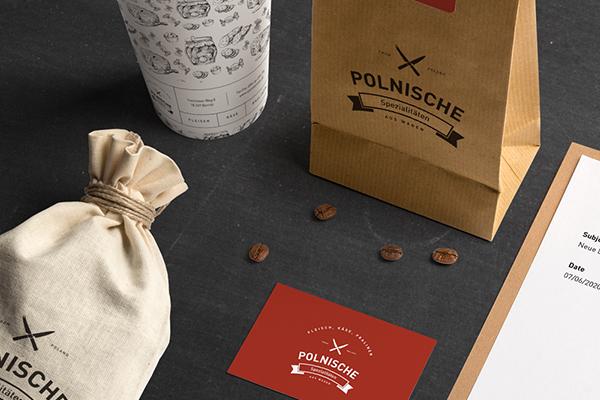 Polnische Spezialitäten视觉形象设计