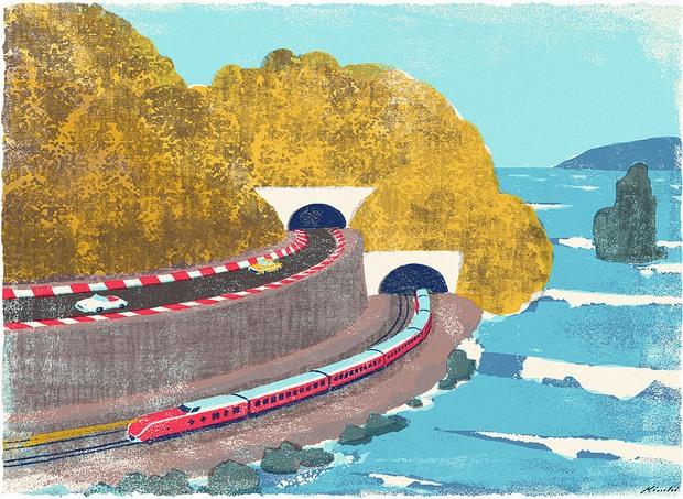 日本插画师Tatsuro Kiuchi作品欣赏