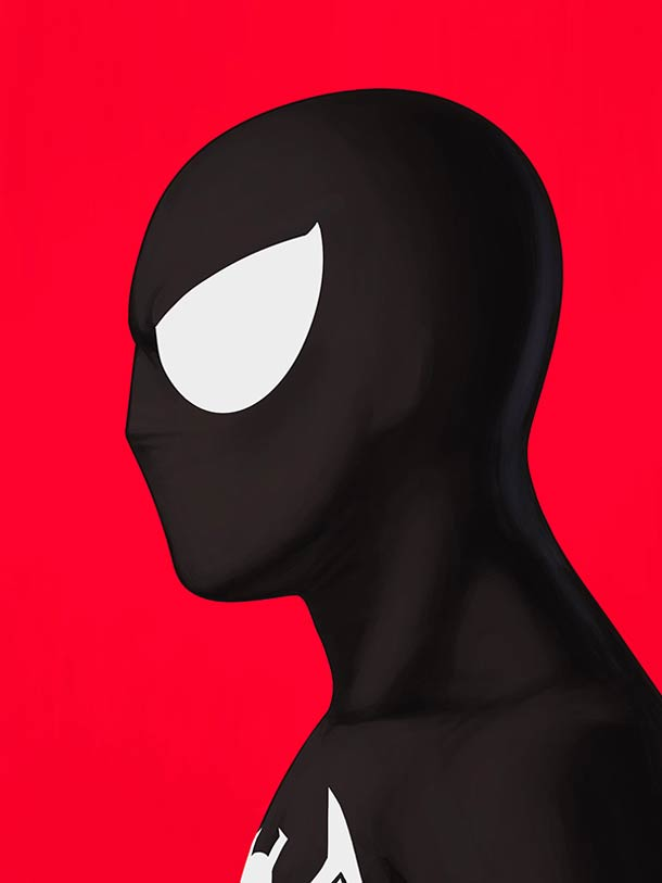 mike mitchell漫威超级英雄人物肖像插画(3)