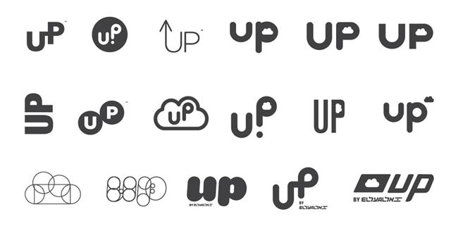 """以色列廉价航空公司""""UP""""新标志"""