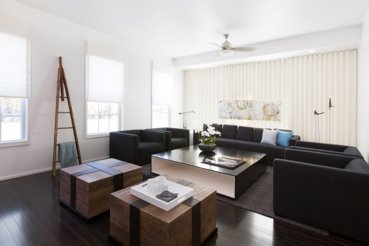 黑与白的纯粹空间:奥兰多现代公寓设计欣赏