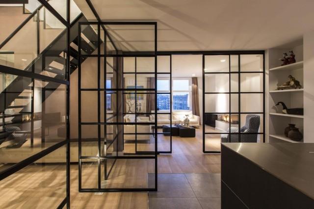 阿姆斯特丹现代复式公寓设计