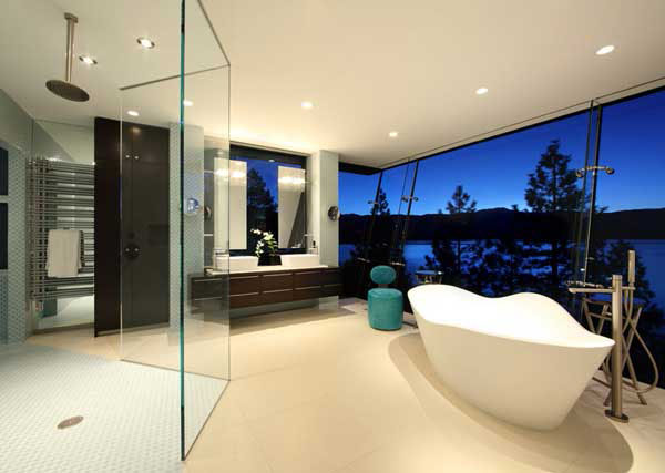 30个国外别墅卫生间和浴室空间设计